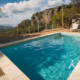 Korfu Ferienhaus Castelli Olivepress Pool Meerblick Strand Fourni