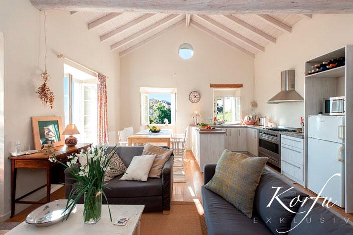 Korfu Ferienhaus Kali Thea Cottage Meerblick Ano Korakiana