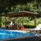Korfu Ferienhaus Villa Pasiphae Pool Meerblick Strand Pelekas