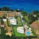 LuxusVilla Erato korfu exklusiv Ferienhaus Villa Pool Halikounas Meerblick