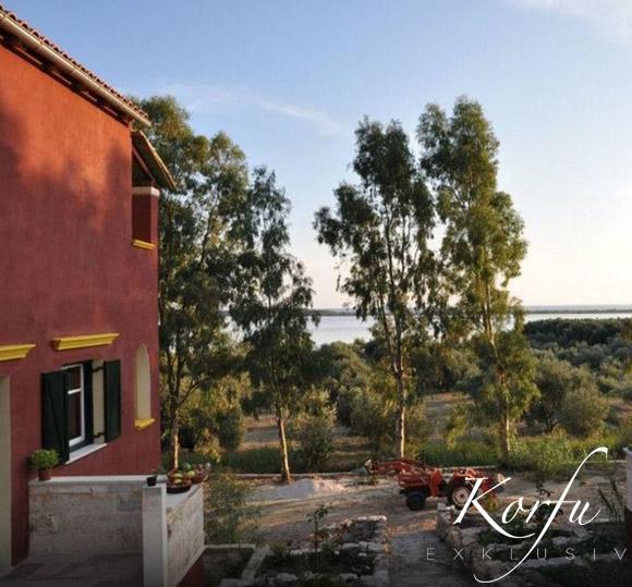Bioporos Korfu exklusiv Ferienwohnung Ferienhaus Halikounas