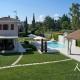 Korfu Ferienhaus villa daphne Luxusvilla Dassia Pelagos Pool Pelekas Strand