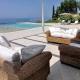 korfu exklusiv Ferienhaus villa symphonia pentati pool luxus ruhig