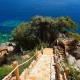 korfu exklusiv luxus villa barbati domina infinity pool